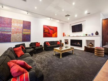 Black living room idea from a real Australian home - Living Area photo 15714237