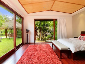 Red bedroom design idea from a real Australian home - Bedroom photo 7583085