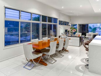 White dining room idea from a real Australian home - Dining Room photo 7574373