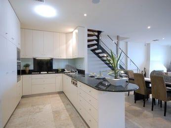 Modern kitchen-dining kitchen design using floorboards - Kitchen Photo 470744