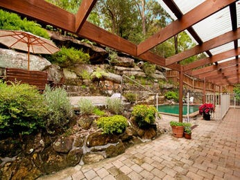 Tropical garden design using brick with pool & rockery - Gardens photo 925090