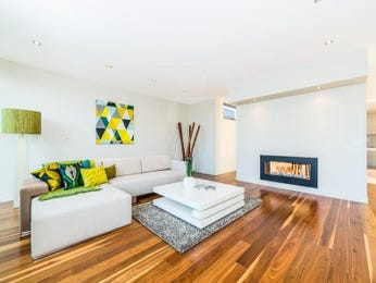 Green living room idea from a real Australian home - Living Area photo 7738305