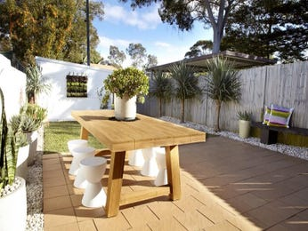 Outdoor living design with outdoor dining from a real Australian home - Outdoor Living photo 8738825