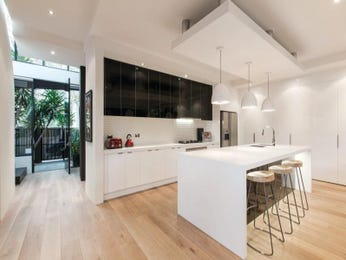 Floorboards in a kitchen design from an Australian home - Kitchen Photo 8622817
