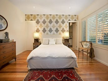 Green bedroom design idea from a real Australian home - Bedroom photo 1033679