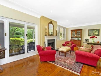 Red living room idea from a real Australian home - Living Area photo 7119953