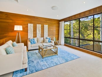 Blue living room idea from a real Australian home - Living Area photo 8228733