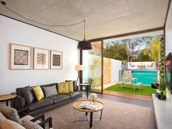 Brown living room idea from a real Australian home - Living Area photo 17170793