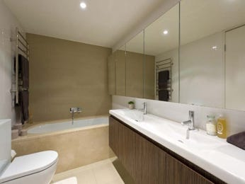 Decorative lighting in a bathroom design from an Australian home - Bathroom Photo 677972