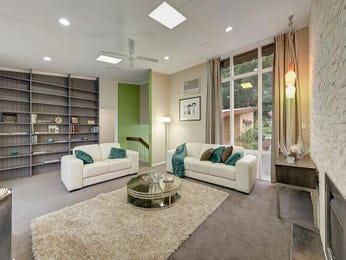 Green living room idea from a real Australian home - Living Area photo 8487593