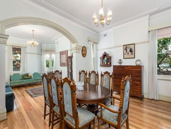 Green dining room idea from a real Australian home - Dining Room photo 8759513