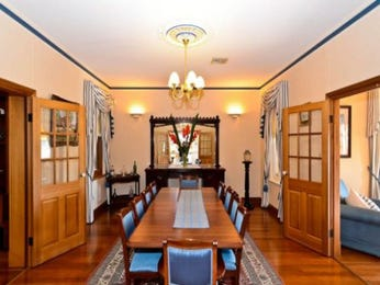 Blue dining room idea from a real Australian home - Dining Room photo 102071