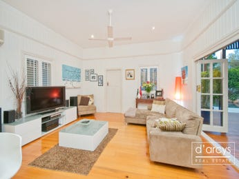 Brown living room idea from a real Australian home - Living Area photo 103523