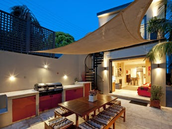 Outdoor living design with bbq area from a real Australian home - Outdoor Living photo 8855701