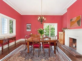 Red dining room idea from a real Australian home - Dining Room photo 8236937
