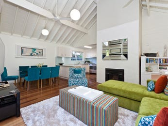 Blue living room idea from a real Australian home - Living Area photo 6955149
