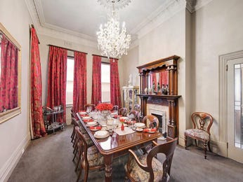 Red dining room idea from a real Australian home - Dining Room photo 7406305