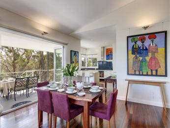 Purple dining room idea from a real Australian home - Dining Room photo 17060145