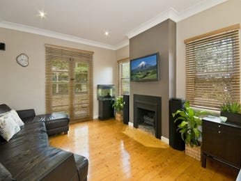 Black living room idea from a real Australian home - Living Area photo 1038522