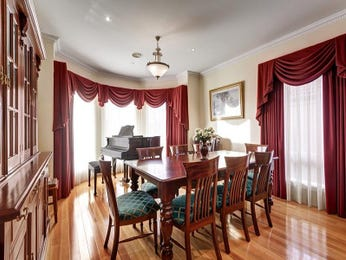 Red dining room idea from a real Australian home - Dining Room photo 2408305