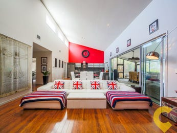 Pink living room idea from a real Australian home - Living Area photo 7681357