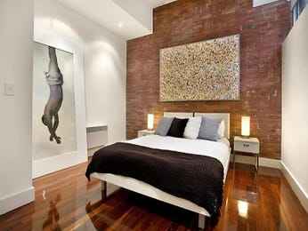 White bedroom design idea from a real Australian home - Bedroom photo 153714