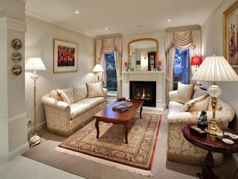 Brown living room idea from a real Australian home - Living Area photo 468275