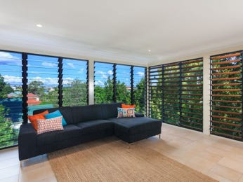 Black living room idea from a real Australian home - Living Area photo 1587591