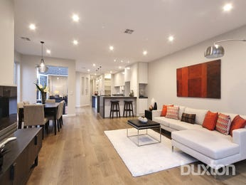 Red living room idea from a real Australian home - Living Area photo 16103621