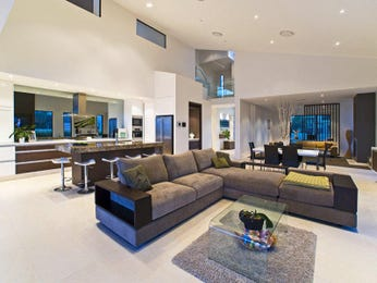 Brown living room idea from a real Australian home - Living Area photo 155458