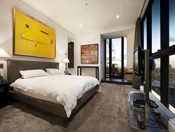 Yellow bedroom design idea from a real Australian home - Bedroom photo 14885761