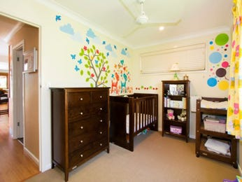 Brown bedroom design idea from a real Australian home - Bedroom photo 349255