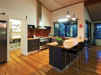Classic u-shaped kitchen design using hardwood - Kitchen Photo 157403