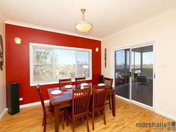 Red dining room idea from a real Australian home - Dining Room photo 16866133