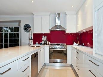 Modern u-shaped kitchen design using glass - Kitchen Photo 158053
