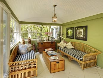 Green living room idea from a real Australian home - Living Area photo 15659537