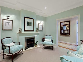 Blue living room idea from a real Australian home - Living Area photo 160101