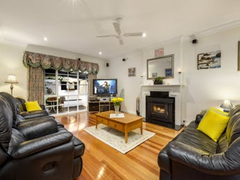 Black living room idea from a real Australian home - Living Area photo 16867381
