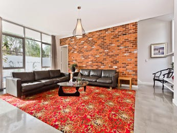 Red living room idea from a real Australian home - Living Area photo 8752877