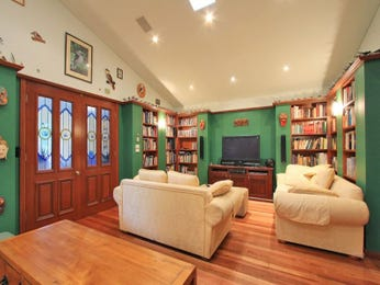 Green living room idea from a real Australian home - Living Area photo 906466