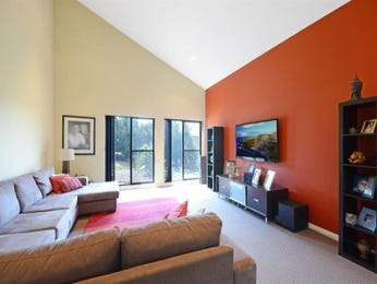 Orange living room idea from a real Australian home - Living Area photo 7572117