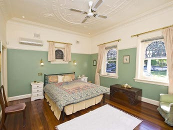 Brown bedroom design idea from a real Australian home - Bedroom photo 164105