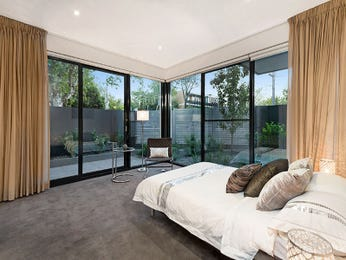 Beige bedroom design idea from a real Australian home - Bedroom photo 7745877