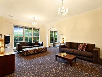 Brown living room idea from a real Australian home - Living Area photo 215382