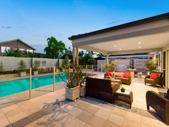 Outdoor living design with pool from a real Australian home - Outdoor Living photo 8089325