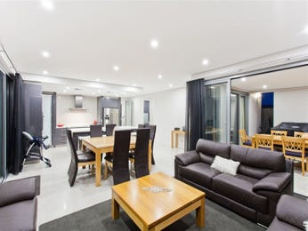 Black living room idea from a real Australian home - Living Area photo 7882113