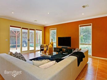 Orange living room idea from a real Australian home - Living Area photo 217473