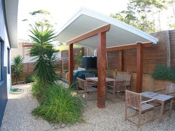 Outdoor living design with bbq area from a real Australian home - Outdoor Living photo 449908