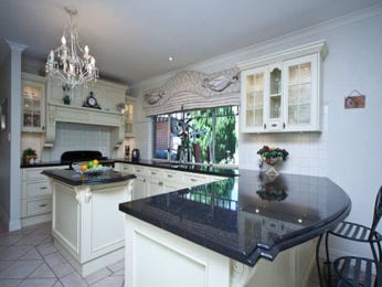 Classic kitchen-dining kitchen design using granite - Kitchen Photo 218875