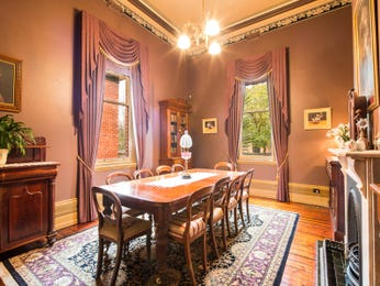 Purple dining room idea from a real Australian home - Dining Room photo 8643765